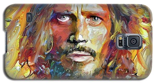 Chris Cornell Tribute 2017 Portrait Galaxy S5 Case