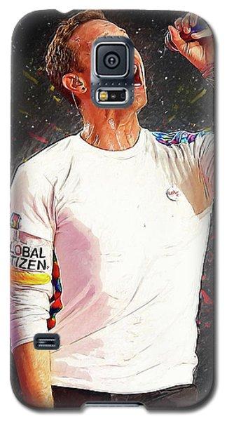 Chris Martin - Coldplay Galaxy S5 Case by Semih Yurdabak