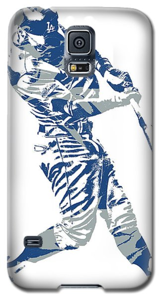 Chris Taylor Los Angeles Dodgers Home Run Galaxy S5 Case