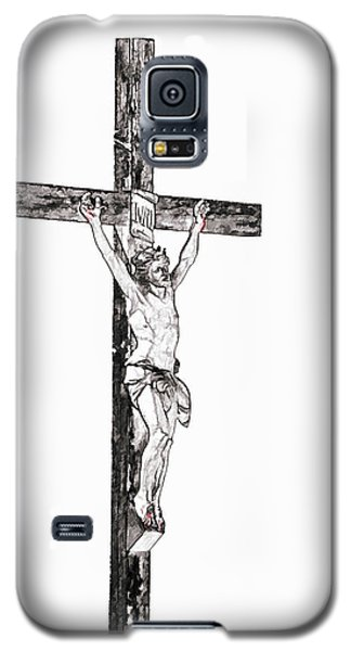 Christ On Cross Galaxy S5 Case