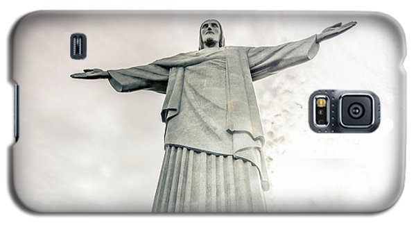 Galaxy S5 Case featuring the photograph Christ The Redeemer by Andrew Matwijec
