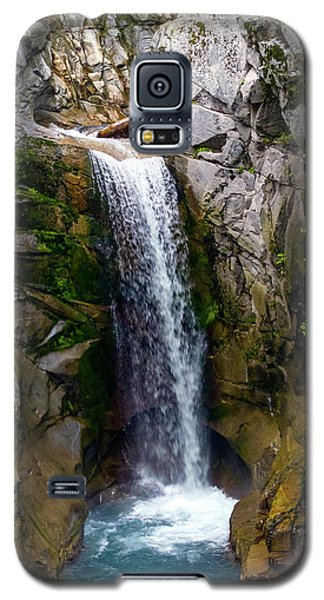 Christine Falls Mt Rainier Galaxy S5 Case