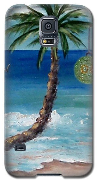 Galaxy S5 Case featuring the painting Christmas 2008 by Jamie Frier