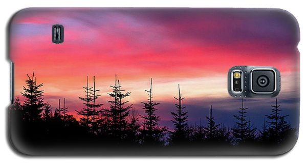Christmas 2016 Sunset Galaxy S5 Case