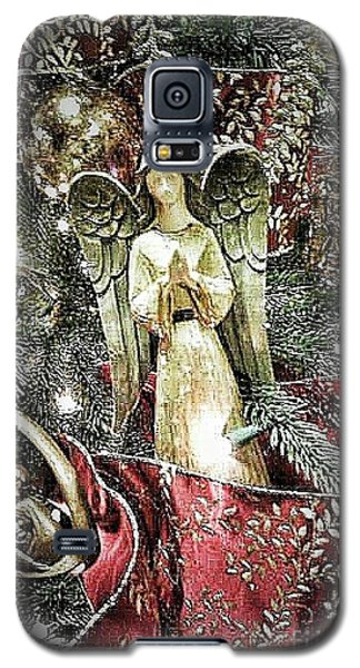 Christmas Angel Greeting Galaxy S5 Case