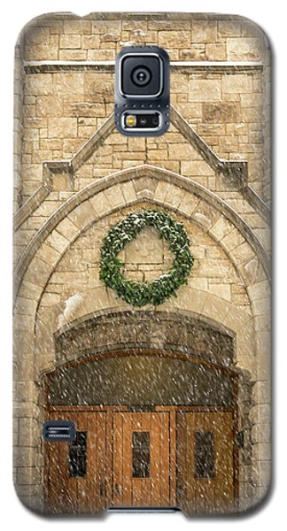 Christmas At Stone Chapel Galaxy S5 Case