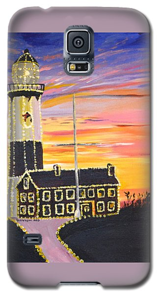 Christmas At The Lighthouse Galaxy S5 Case