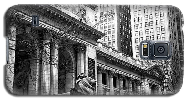 Christmas At The New York Public Library Galaxy S5 Case