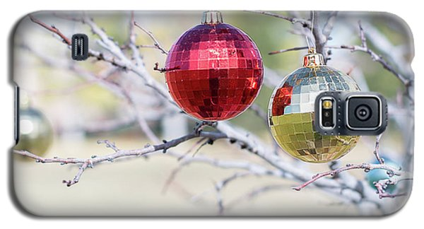 Christmas At The Park Galaxy S5 Case