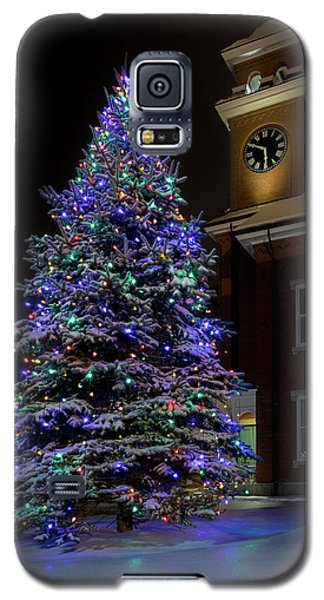 Christmas At Town Hall Galaxy S5 Case