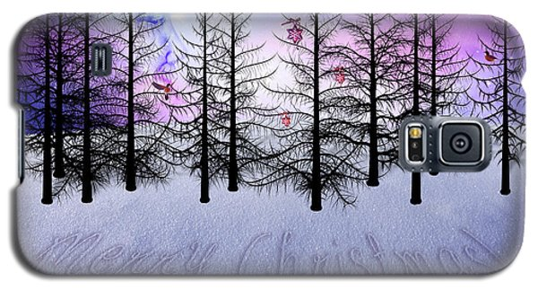 Christmas Bare Trees Galaxy S5 Case