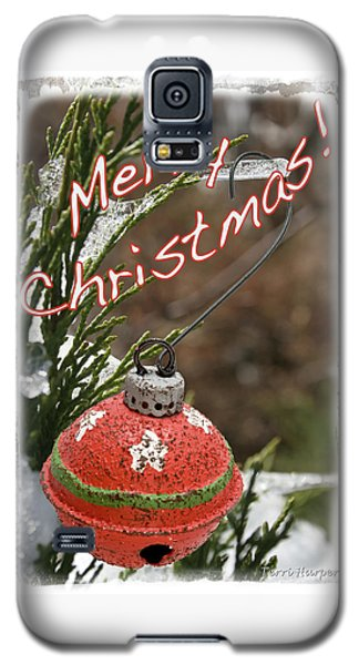 Christmas Bell Ornament Galaxy S5 Case