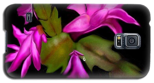 Christmas Cactus Galaxy S5 Case
