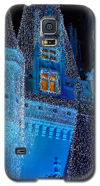 Christmas Castle Galaxy S5 Case