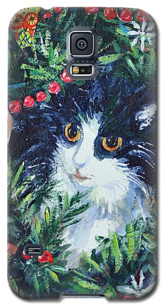 Christmas Catouflage Galaxy S5 Case