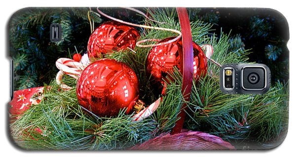 Christmas Centerpiece Galaxy S5 Case