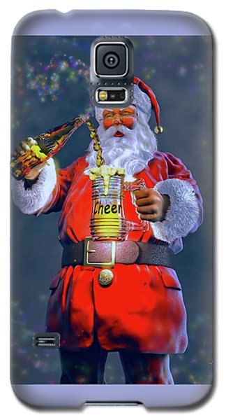 Christmas Cheer Iv Galaxy S5 Case by Dave Luebbert