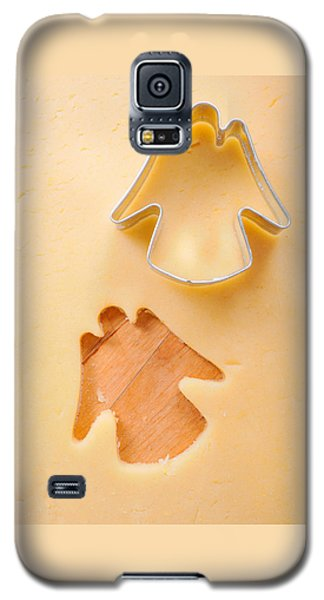 Christmas Cookie Angel Shape Galaxy S5 Case