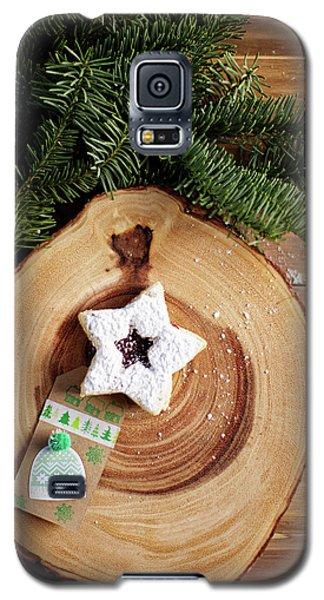 Galaxy S5 Case featuring the photograph Christmas Cookies by Rebecca Cozart