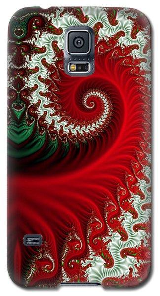 Christmas Swirls Galaxy S5 Case