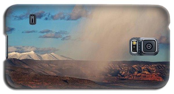 Christmas Day Snow Mix San Francisco Peaks Galaxy S5 Case