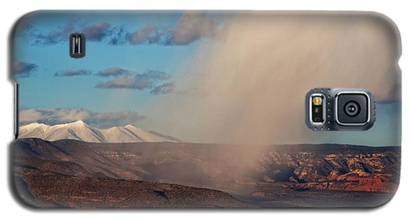 Christmas Day Snow Mix San Francisco Peaks Galaxy S5 Case
