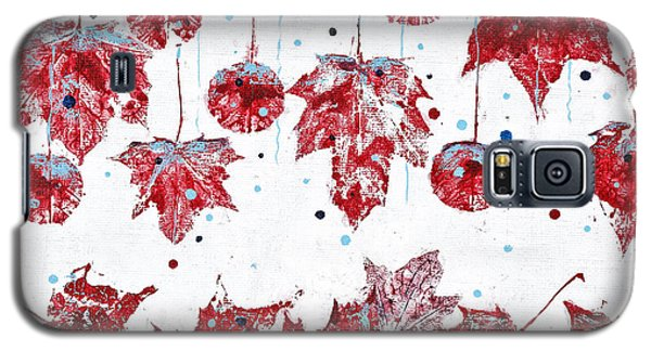 Christmas Decorations Of Nature Galaxy S5 Case