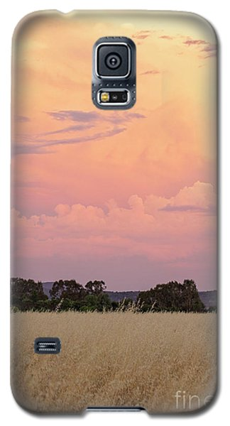Galaxy S5 Case featuring the photograph Christmas Eve In Australia by Linda Lees