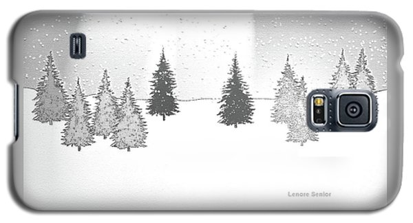 Christmas Eve Galaxy S5 Case by Lenore Senior