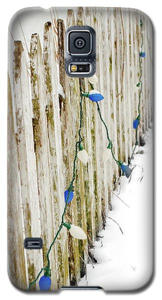 Christmas Fence Galaxy S5 Case