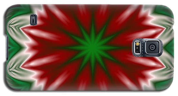 Christmas Flower Galaxy S5 Case