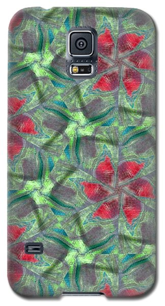 Christmas Flowers Galaxy S5 Case