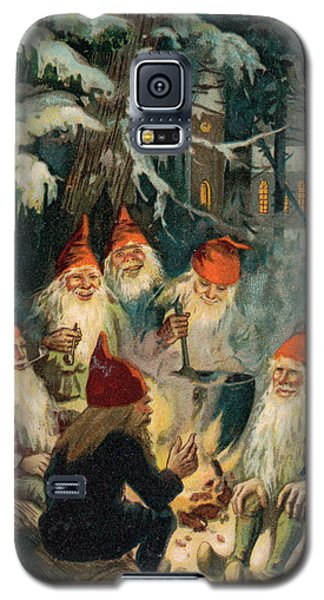 Elf Galaxy S5 Case - Christmas Gnomes by English School
