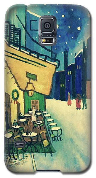 Christmas Homage To Vangogh Galaxy S5 Case