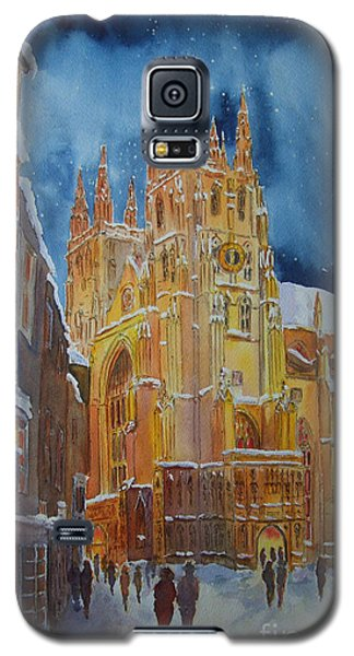 Christmas In Canterbury Galaxy S5 Case