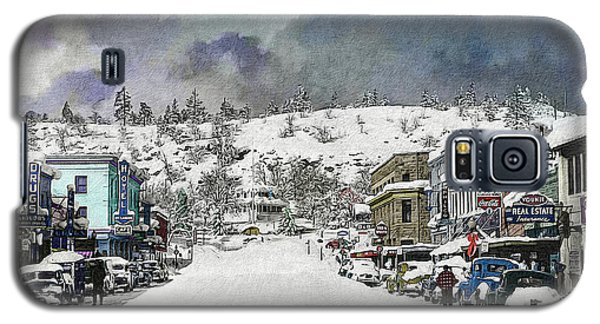 Christmas In Susanville, 1953 Galaxy S5 Case