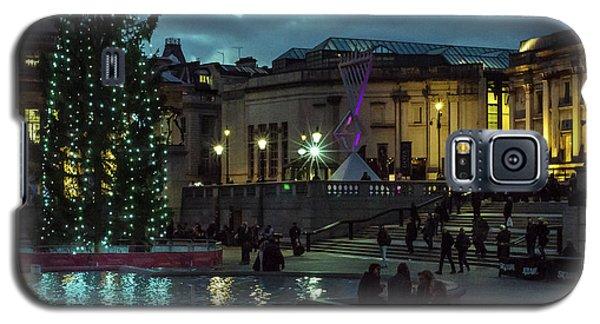 Christmas In Trafalgar Square, London 2 Galaxy S5 Case