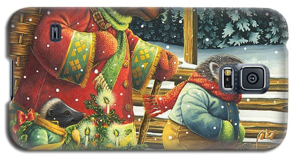 Christmas Journey Galaxy S5 Case
