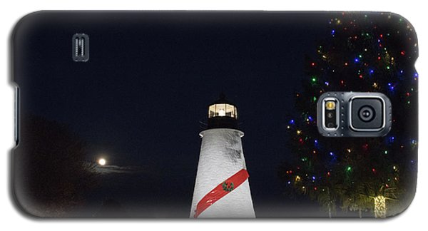 Christmas Lighthouse Galaxy S5 Case