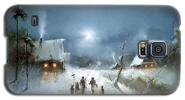 Christmas Night Galaxy S5 Case