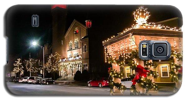 Christmas On Main Street Easthampton Galaxy S5 Case