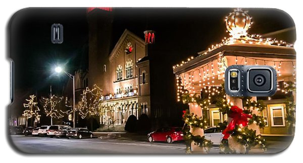 Christmas On Main Street Easthampton Galaxy S5 Case