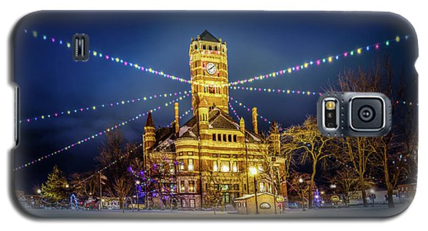 Christmas On The Square 2 Galaxy S5 Case