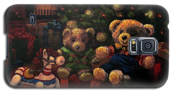 Galaxy S5 Case featuring the painting Christmas Past by Karen Ilari