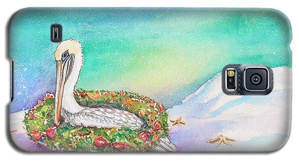 Christmas Pelican Galaxy S5 Case