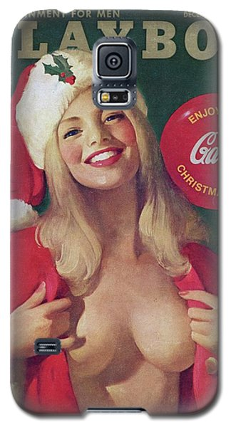 Elf Galaxy S5 Case - Christmas Playboy Vintage Cover by Playboy