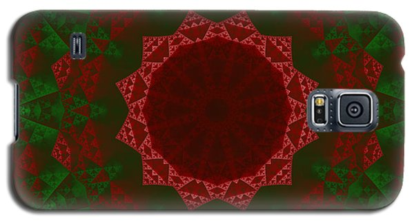 Christmas Quilt Galaxy S5 Case