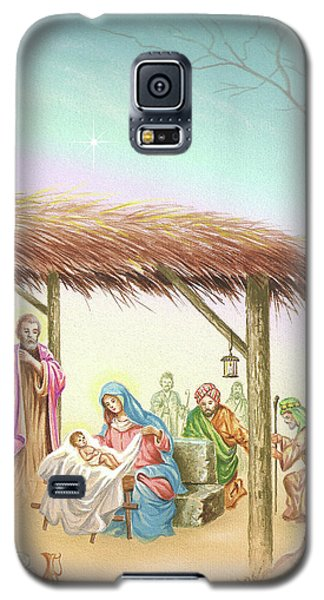 Christmas Scene 1 Galaxy S5 Case