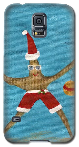 Christmas Starfish Galaxy S5 Case