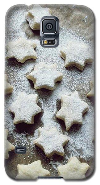 Christmas Stars Galaxy S5 Case by Marija Djedovic
